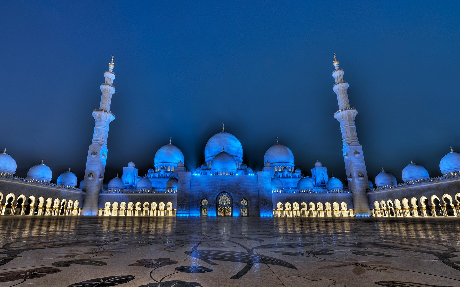 Abu Dhabi – Sheikh Zayed Moschee