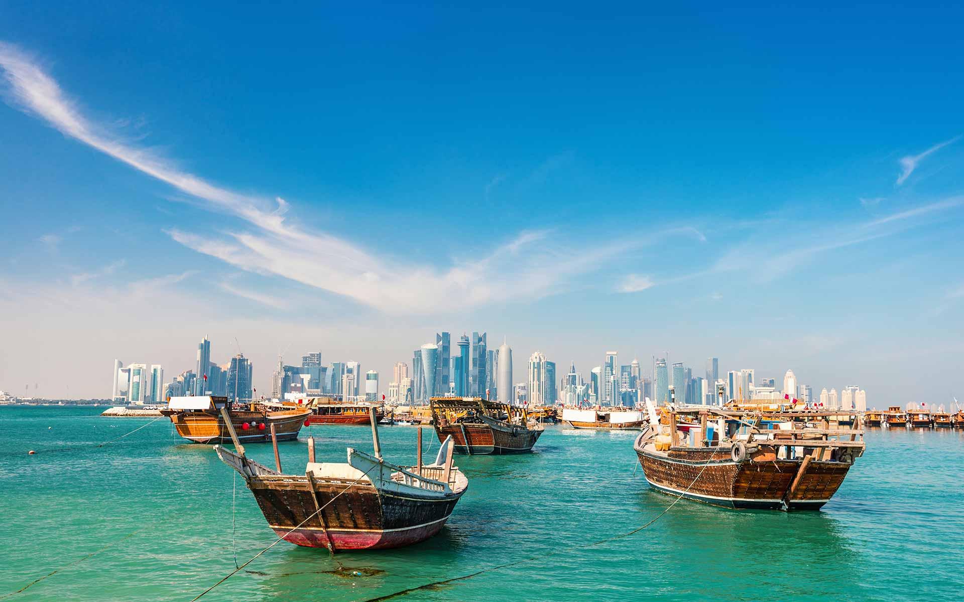 Katar Wasserblick
