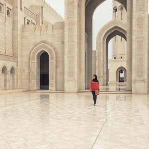 Sultan Qaboos Moschee - Oman
