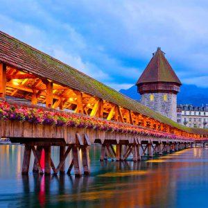 Kapellbrücke - Schweiz - Luxus- & Individualreisen | Emissa Travel